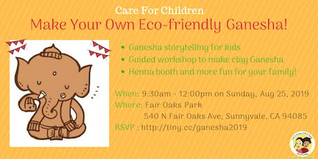 Make Your Own Eco Friendly Ganesha! tickets
