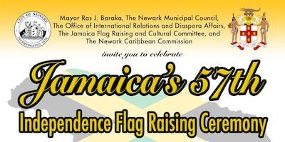 Jamaica's 57th Independence Flag Raising Ceremony