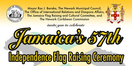 Jamaica's 57th Independence Flag Raising Ceremony tickets