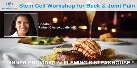 Stem Cell Workshop (Dinner @ Fleming's Steakhouse Provided!) tickets
