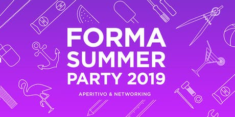 FORMA Summer Party 2019 tickets