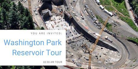 Washington Park Reservoir Project Tour - 10:30 a.m. tickets