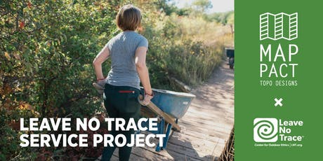 Topo Designs x Leave No Trace Service Project tickets