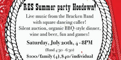 Summer Dinner & Live Band & Square Dancing