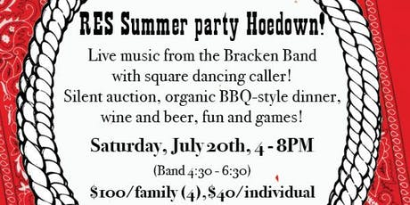 Summer Dinner & Live Band & Square Dancing tickets