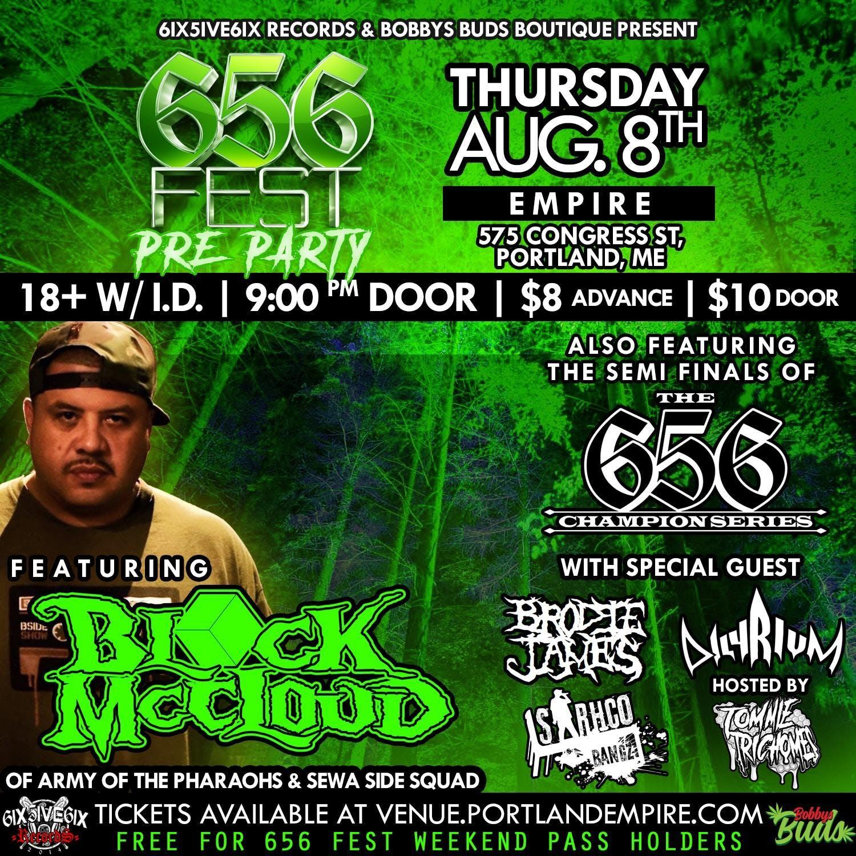 656 Fest Pre Party with Block McCloud