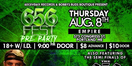 656 Fest Pre Party with Block McCloud @ Empire Live Music & Events tickets