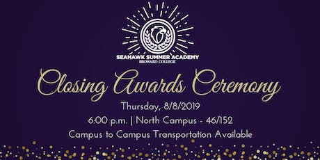 2019 Closing Awards Ceremony - Seahawk Summer Academy tickets