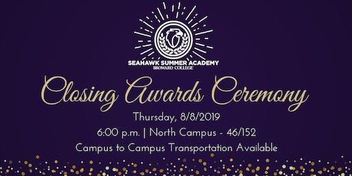 2019 Closing Awards Ceremony - Seahawk Summer Academy