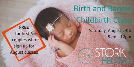 Birth and Bagels Childbirth Class tickets