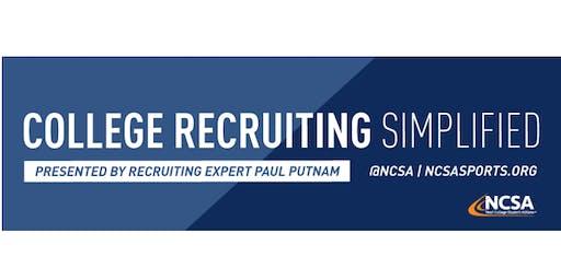 College Sports Recruiting 101 Presented by Recruiting Expert Paul Putnam