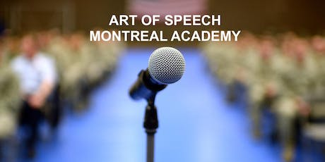Become a Top Speaker! Free Course Montreal Wednesday tickets