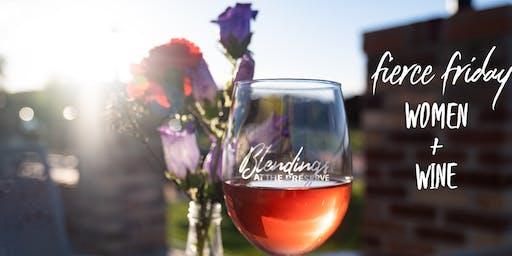 Fierce Friday-women+wine