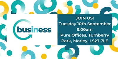 In Business Networking Meeting at Pure Offices