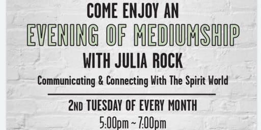 Evening of Mediumship with Psychic Julia Rock