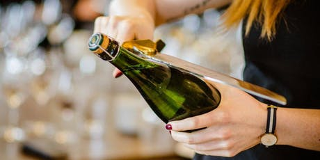 Patio Workshop: Learn to Saber a Bottle of Champagne and Cocktail Mixing tickets