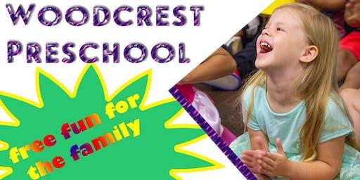 Newbury Park Woodcrest Preschool Free Community Wide Family Fun Day