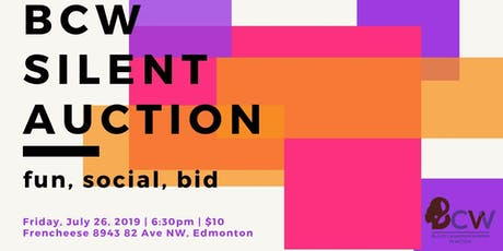 BCW's Silent Auction tickets