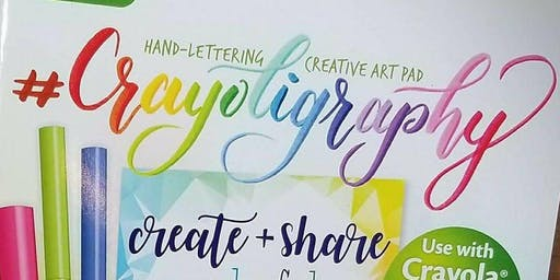 Crayoligraphy - Saturday Class