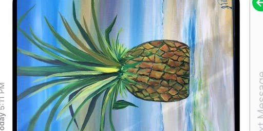 Paint&Sip The Tift Tap House Pineapple 8/3