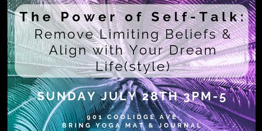 Self-Love Workshop: Power of Self-Talk