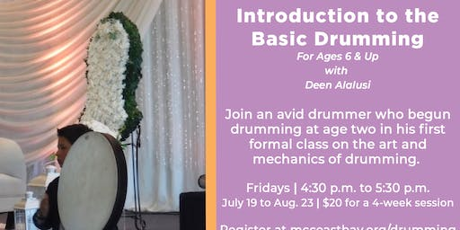 Four-Week Session: Introduction to the Basic Drumming | For Ages 6 & Up