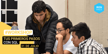 [WORKSHOP] - Tus primeros pasos con SQL boletos