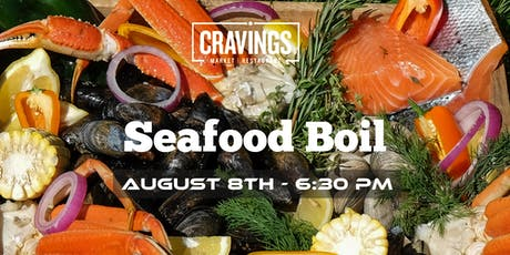 Cravings Seafood Boil 2019 tickets