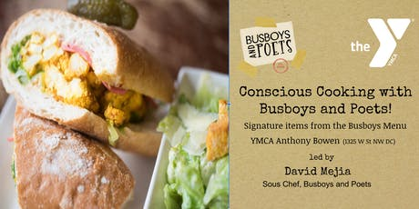 Conscious Cooking with Busboys and Poets @ the YMCA | July 31st, 2019 tickets