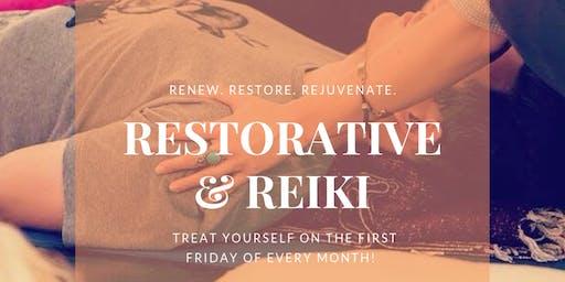Restorative & Reiki @ Shilo Farm