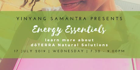 Energy Essentials with YinYangSamantra tickets