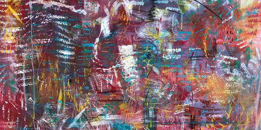 Spirited Abstract Painting