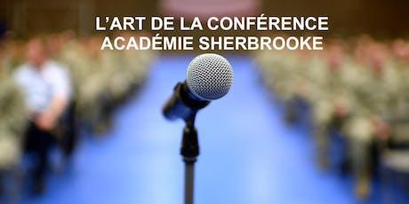 Devenez Top orateur! Cours gratuit Sherbrooke tickets