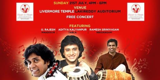 FREE Carnatic Concert by Mandolin U.Rajesh