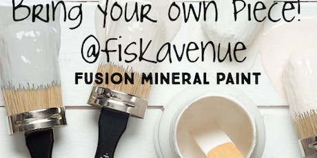 Bring your own piece *Fusion mineral painting class tickets