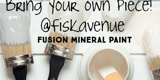 Bring your own piece *Fusion mineral painting class