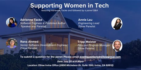 Supporting Women in Tech w/Adrienne Tacke tickets