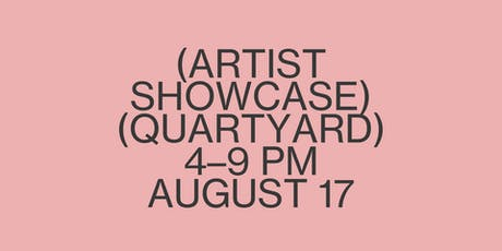 Crafted Artist Showcase 01 tickets