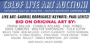 CBLDF Comic-Con Art Auction, Presented by IDW...
