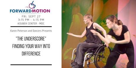 Forward Motion Workshop #2: Karen Peterson and Dancers tickets