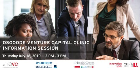 Osgoode Venture Capital Clinic Information Session tickets