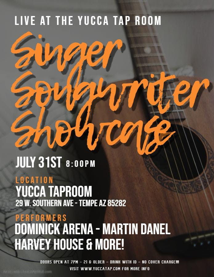 Singer Songwriter Showcase