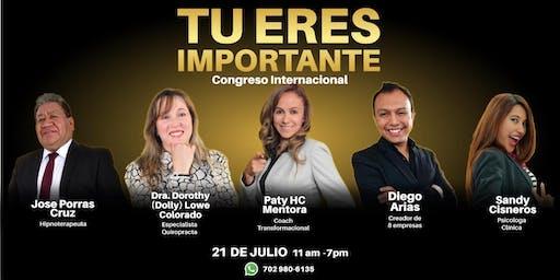 Congreso Internacional Tú eres Importante