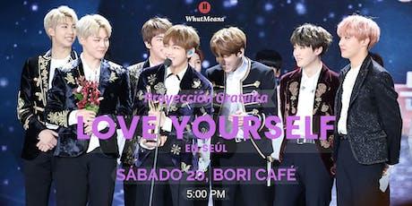Ven a ver BTS Love Yourself en Seul gratis :D entradas