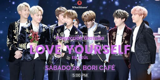 Ven a ver BTS Love Yourself en Seul gratis :D