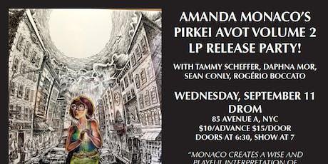 Amanda Monaco Album Release Concert tickets