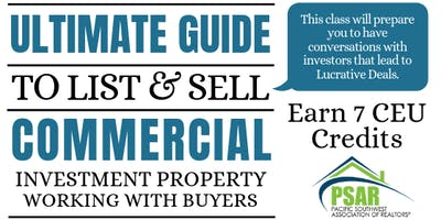 The Ultimate Guide to List & Sell Commercial Investment Property : Working with Buyers - 1 Day Course