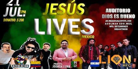 JESUS LIVE`S MX. 2019 entradas
