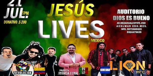 JESUS LIVE`S MX. 2019
