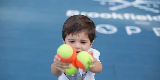 Brookfield Place Tennis: Kids Mini Camp with Super Duper Tennis Aug 21-23